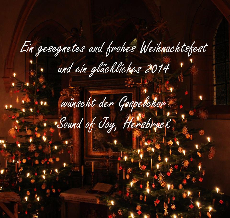 Frohe Und Gesegnete Weihnachten.Frohe Und Gesegnete Weihnachten Und Ein Glückliches 2014 Sound Of