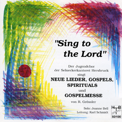 'sing to the lord'